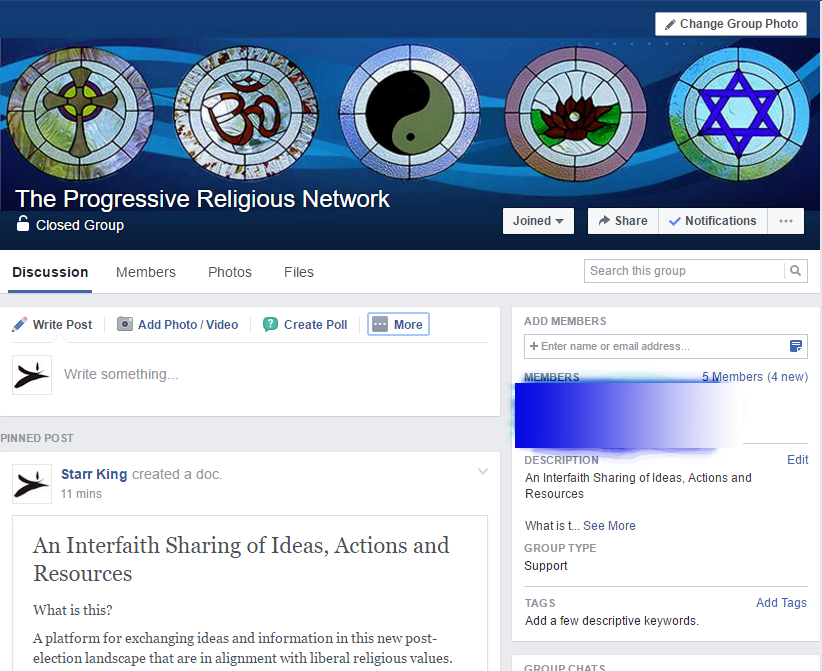 The Progressive Religious Network